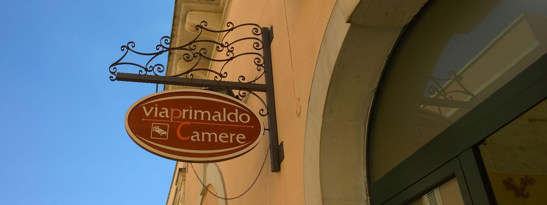 ViaPrimaldo Camere